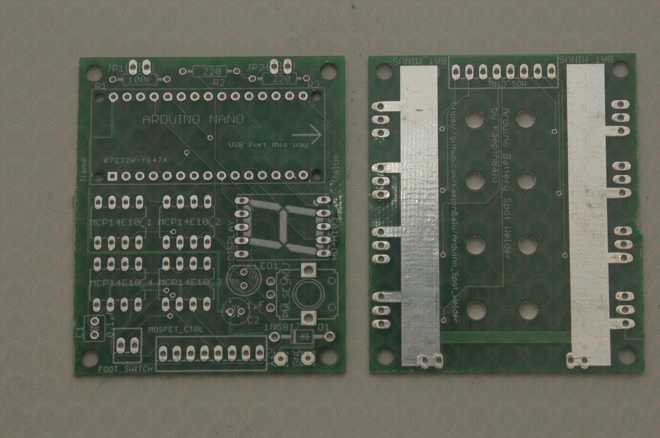 QuietStove PCB Board for Arduino Spot Welder - Get Yours Today